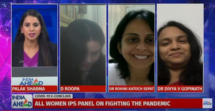 WATCH COVID-19 E-Conclave: All Women IPS Panel Speaks About Fighting Pandemic