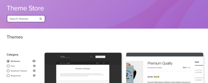 Vast Collections of Themes for Website