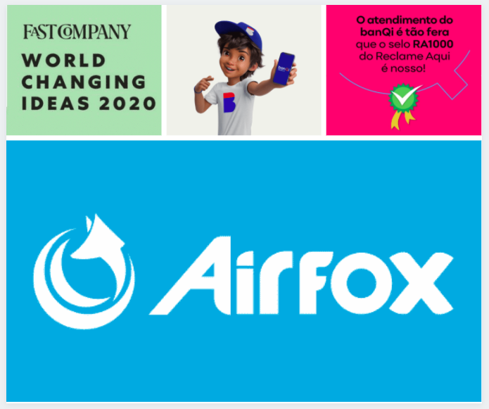 A collage of assorted pictures representing Airfox's accomplishments throughout 2020.