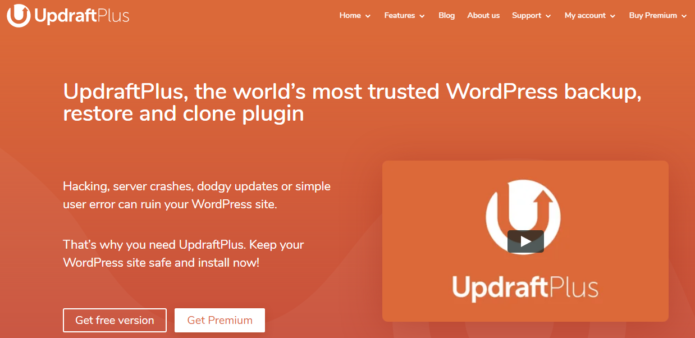 UpdraftPlus-Trusted Backup and Restore Plugins