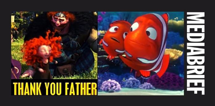 Disney's warm shout-out to Dads on Father's Day