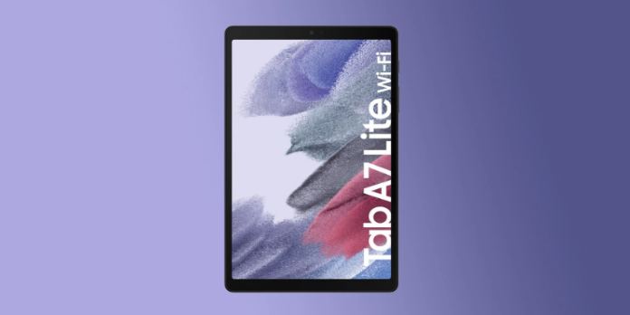 Galaxy Tab A7 Lite is already on sale, just one month after its debut
