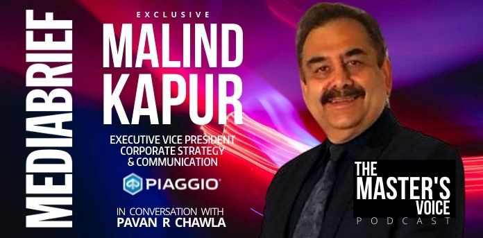 THE MASTER'S VOICE PODCAST - Malind Kapur, EVP Piaggio Vehicles: Literally driving business on the wheels of purpose
