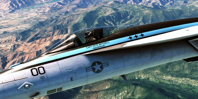 The Top Gun pack for Microsoft Flight Simulator just got delayed like the movie