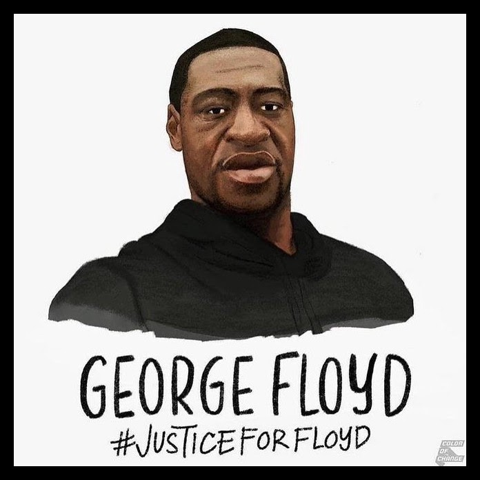 #Justice for George Floyd Poster