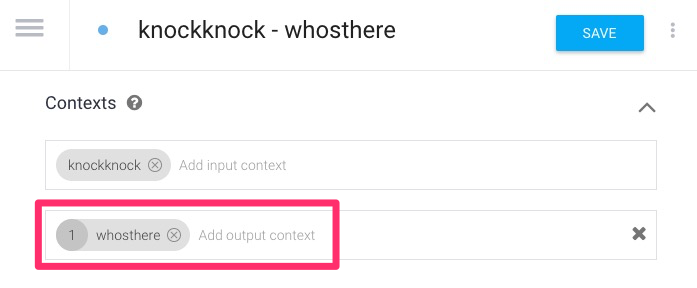 How to Handle Context with Dialogflow (Part 1: Knock Knock Jokes)