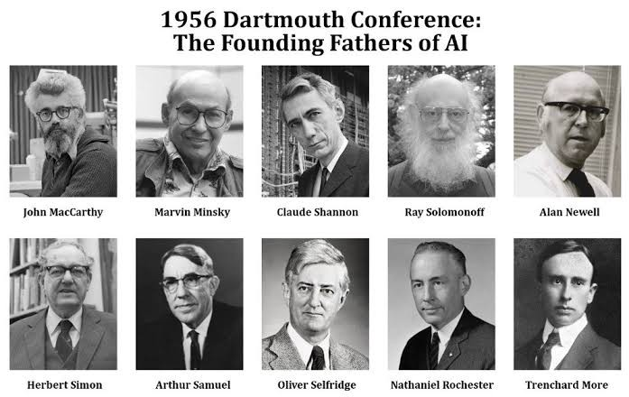 1956 Dartmouth Conference: The Founding Fathers of AI