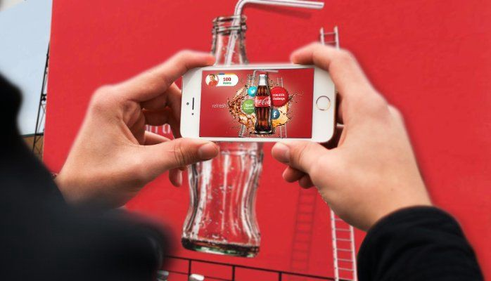 Coca Cola Augmented Reality Marketing