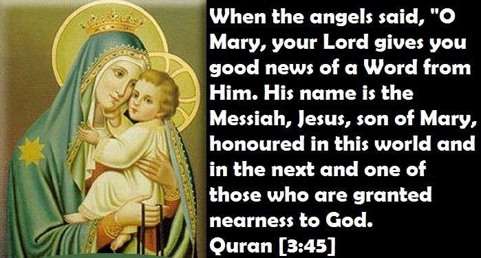 The Story of Jesus Christ and Mary in the Holy Quran