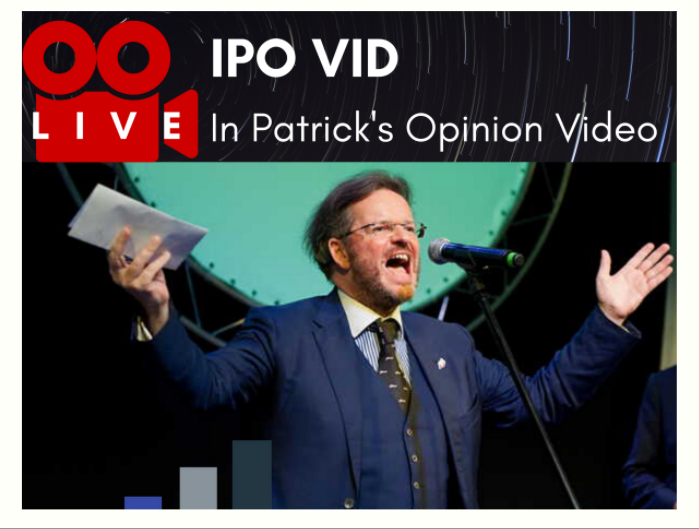 IPO VID (In Patrick's Opinion) Video Graphic