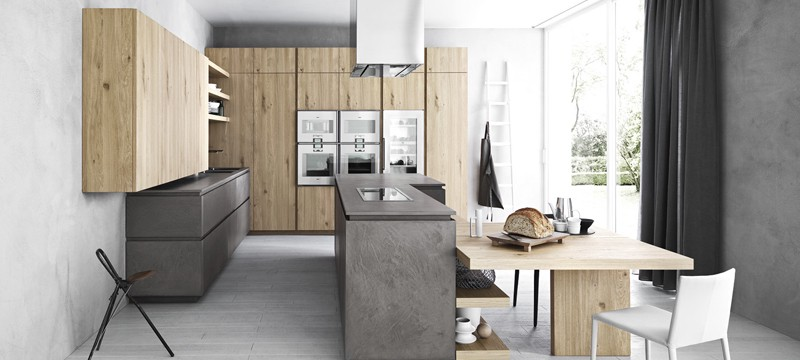 Modern Kitchens with Italian Kitchen Cabinets Look Amazing