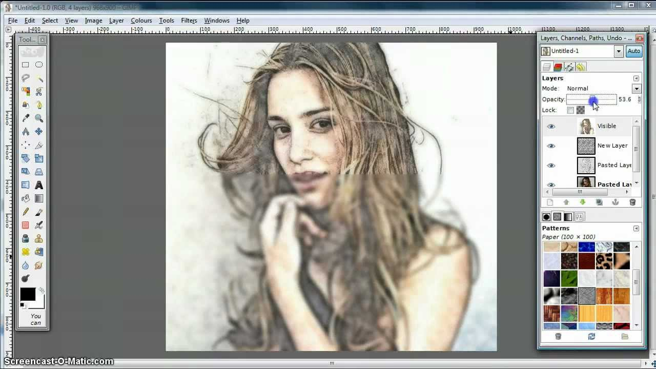 How to Convert a Photo into a Sketch or Drawings   by ...