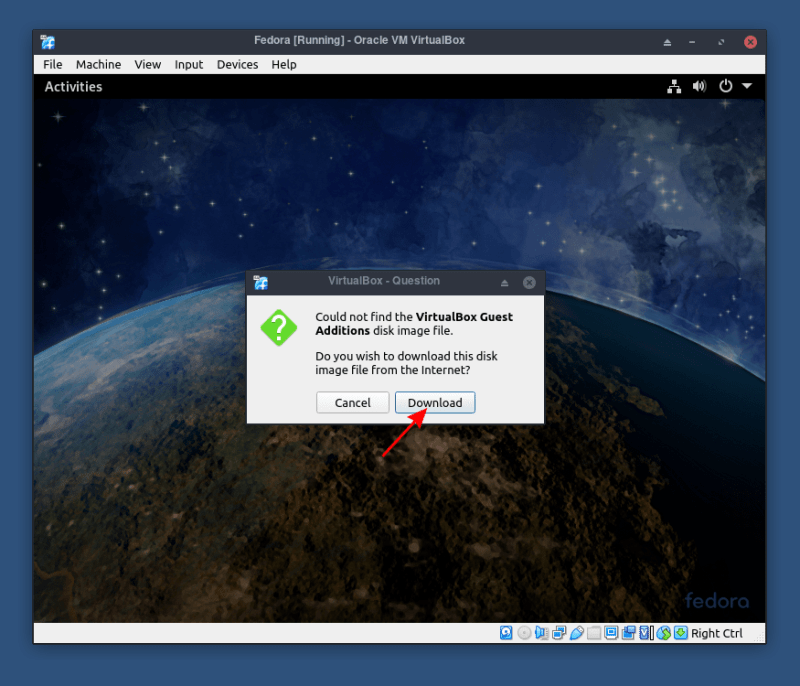 Install VirtualBox Guest Additions