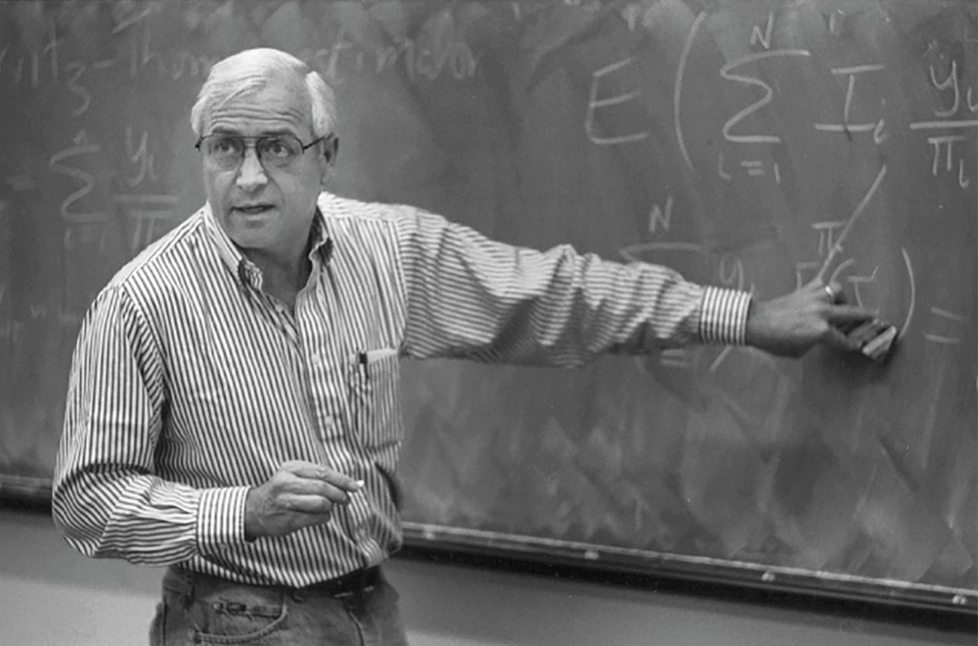 Stephen E. Fienberg portrayed, Director, Machine Learning Department 2000–2001