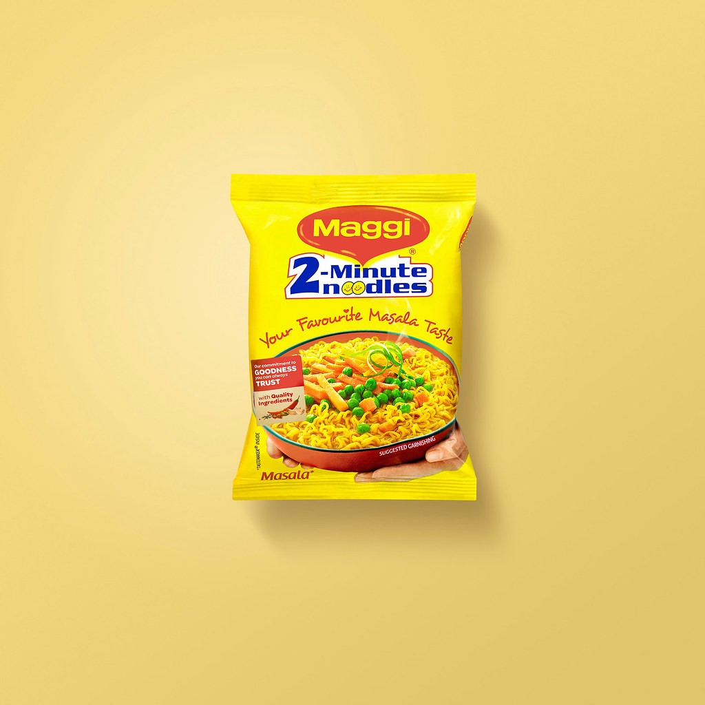 An image of everyone's favourite—the Maggi Instant Noodles