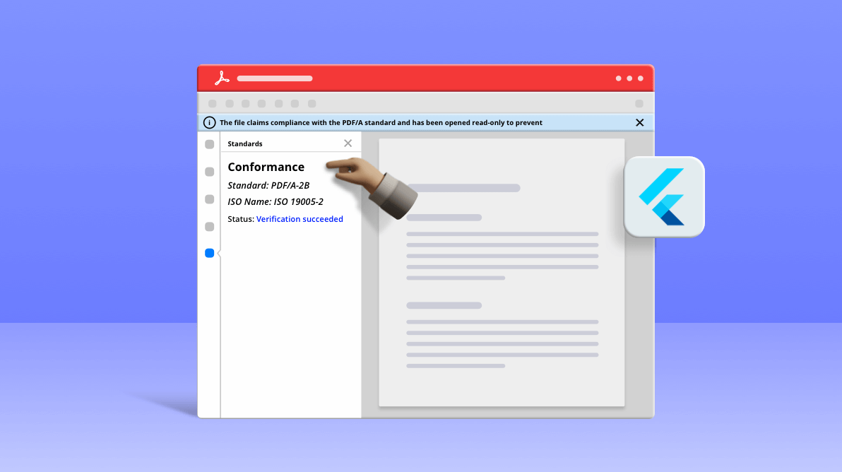 How to Create PDF/A Standard Files in Flutter