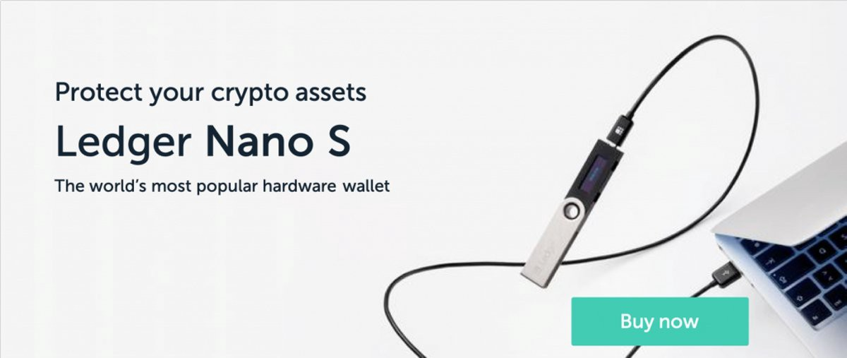 Ledger Nano S the Worlds most popular crypto hardware wallet