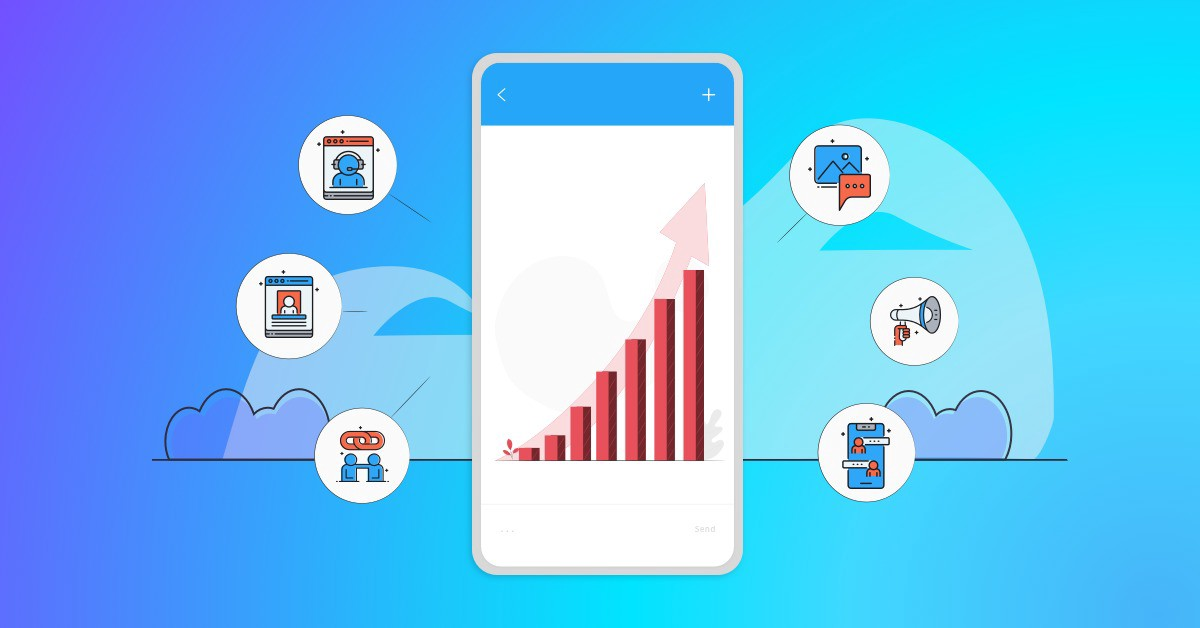 Text Message Trends Upwards on a Mobile Handset