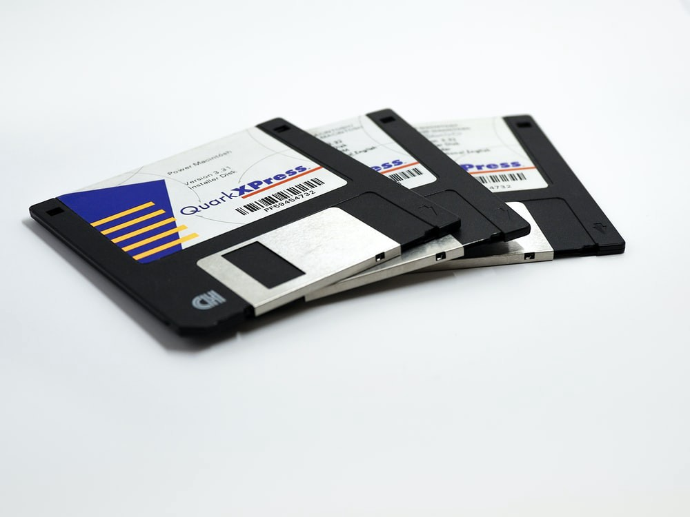 Image of floppy disks