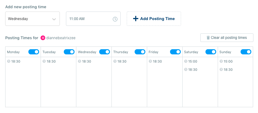 You can create an advanced plan to schedule your posts for a future date with Circleboom Publish.