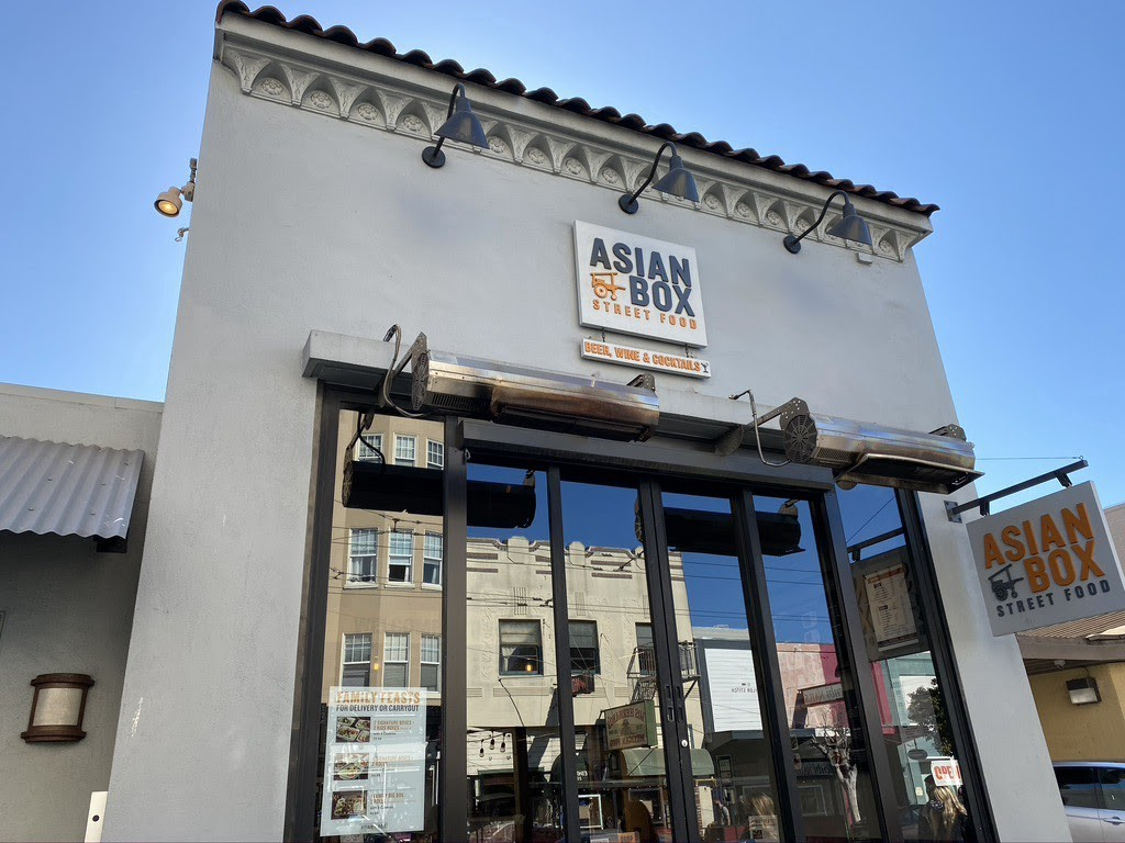 Front of Asian Box's location in San Francisco