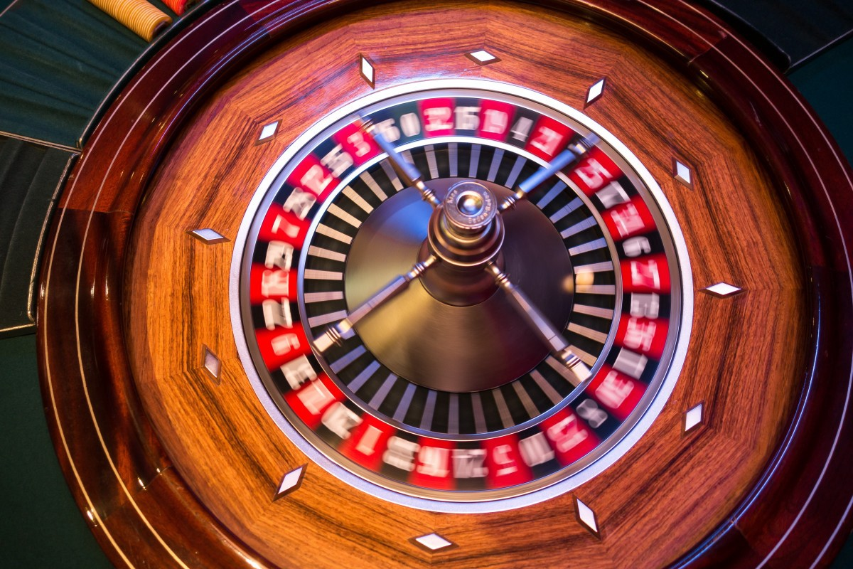 A blurred roulette wheel in motion. Image by Angelo_Giordano, CC0 https://creativecommons.org/publicdomain/zero/1.0/legalcode