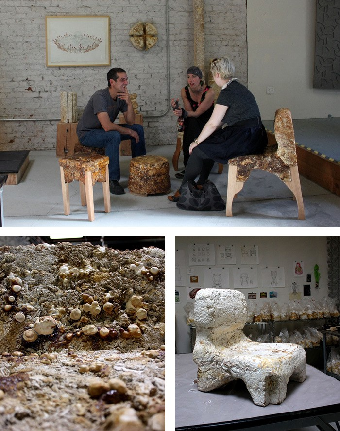 The Freaky Fungal Furniture Of Phil Ross The Bold Italic