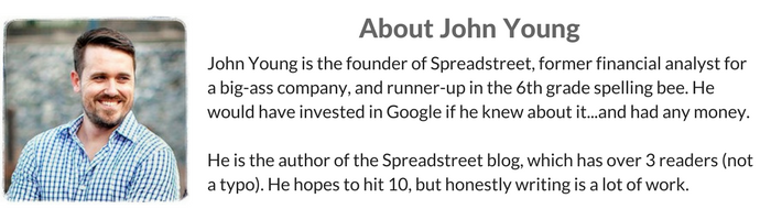 Bio for Spreadstreet
