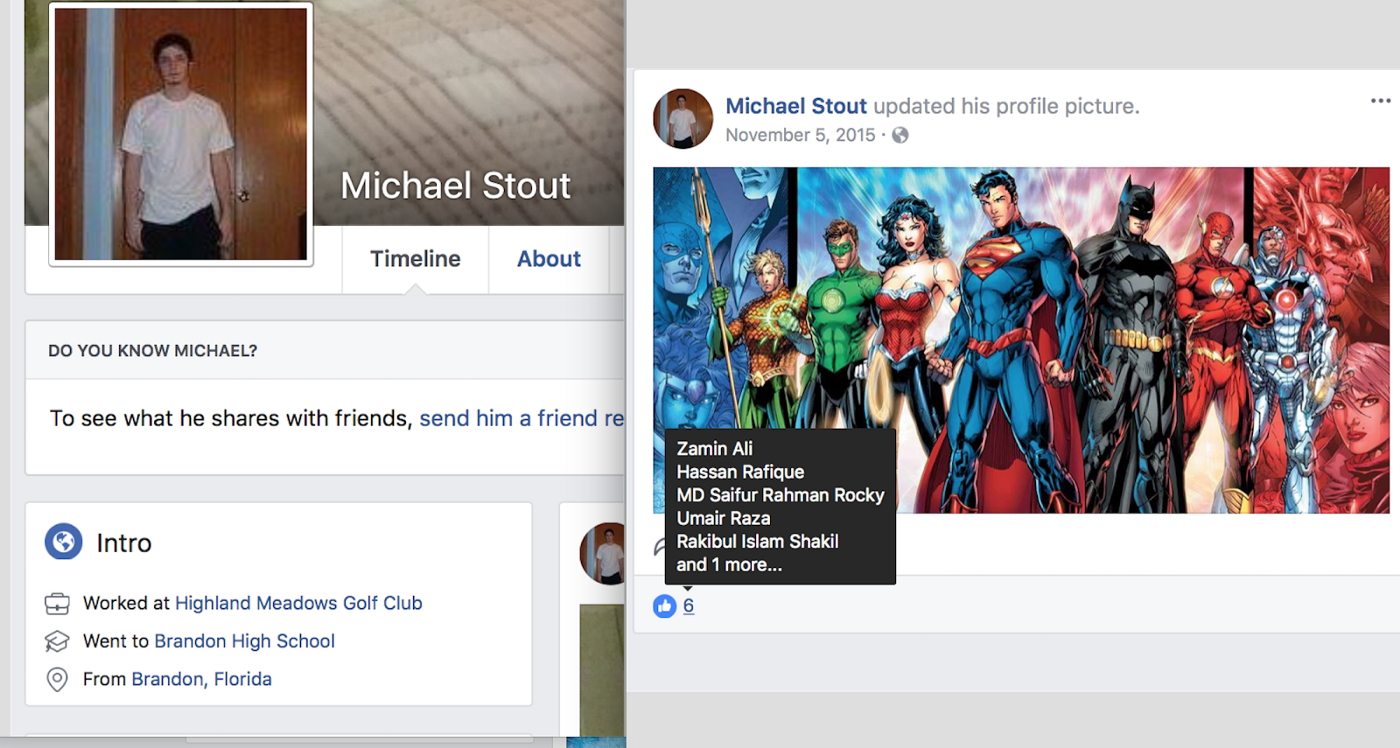 Top 7 signs a Facebook account is fake - Zachary Elwood - Medium