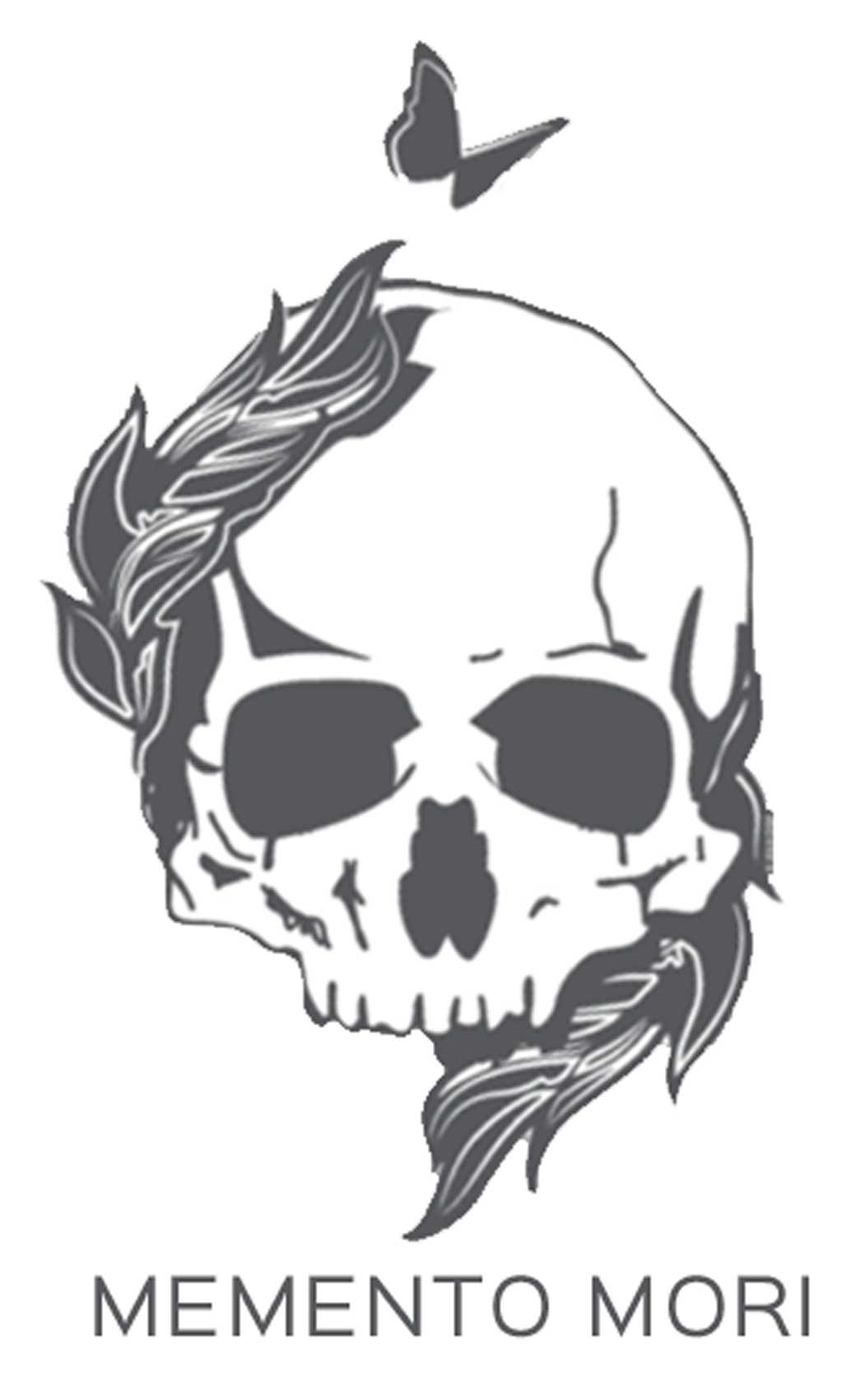 A Memento Mori decal, which can be found on the Pursued by Truth store