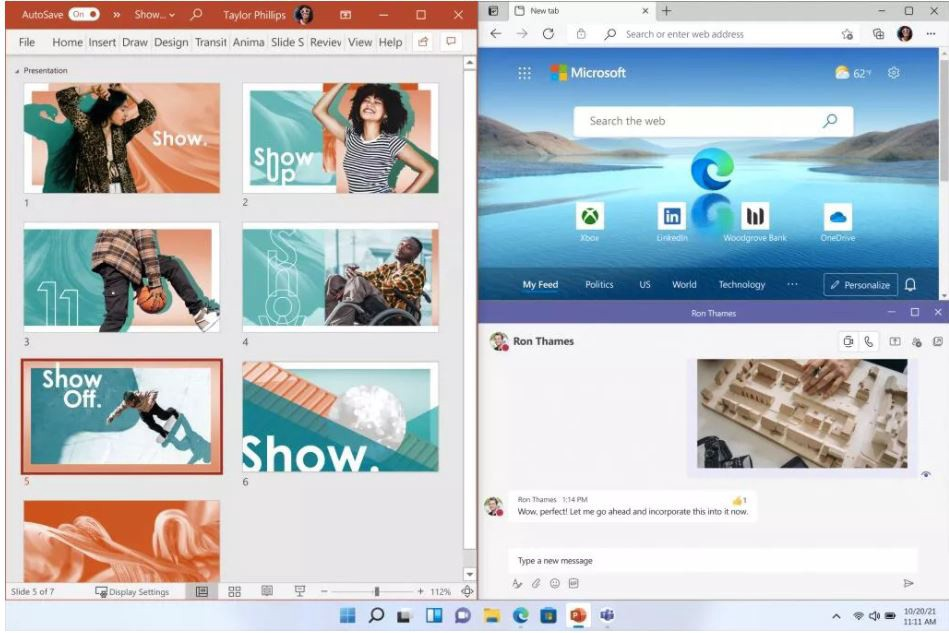 Check out the new features on Windows 11
