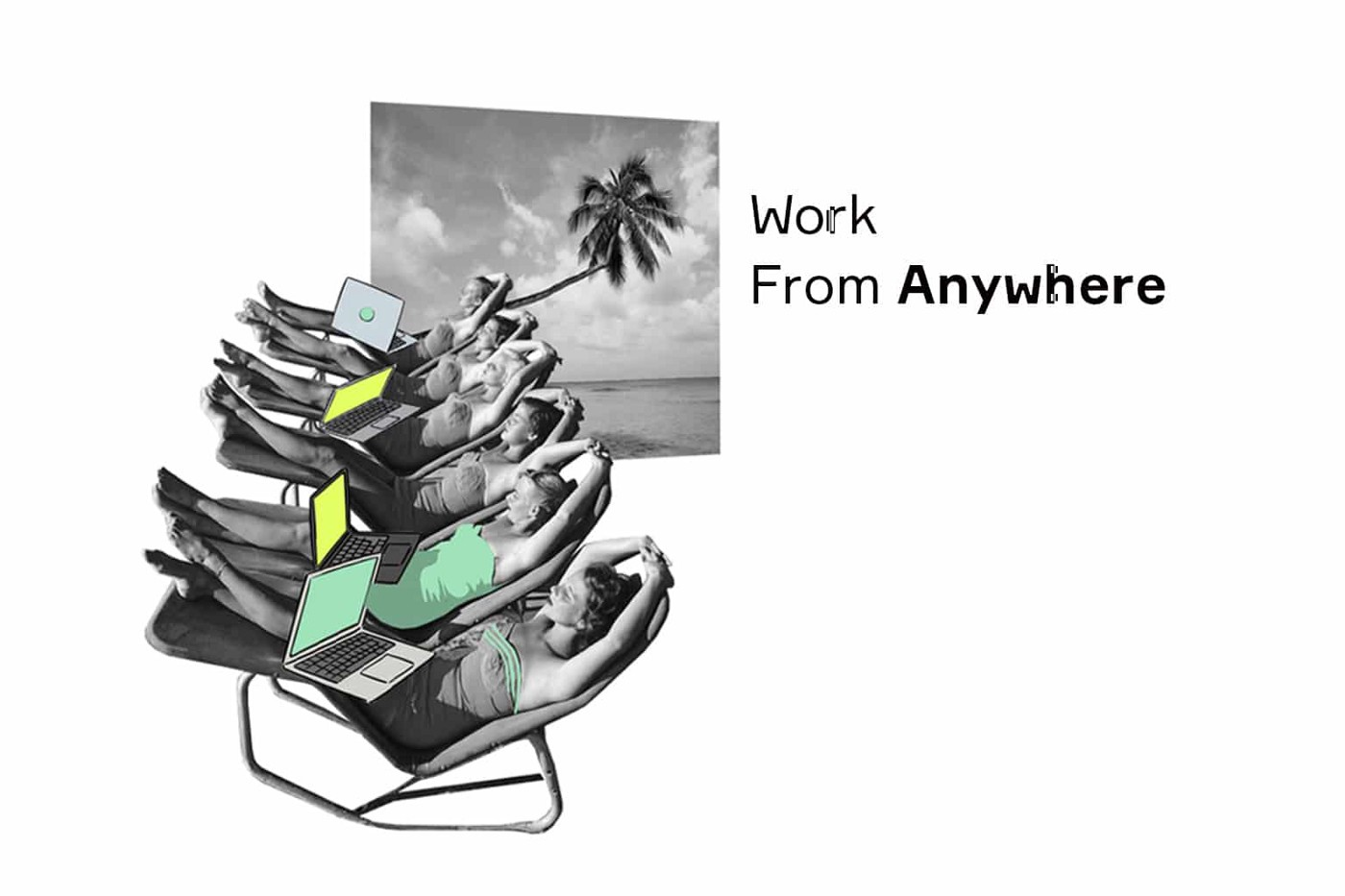 Working from Laptop Anywhere