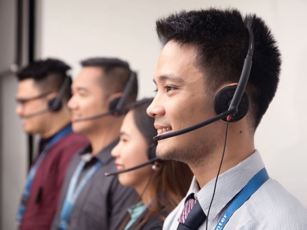 happy agents at One Contact Center