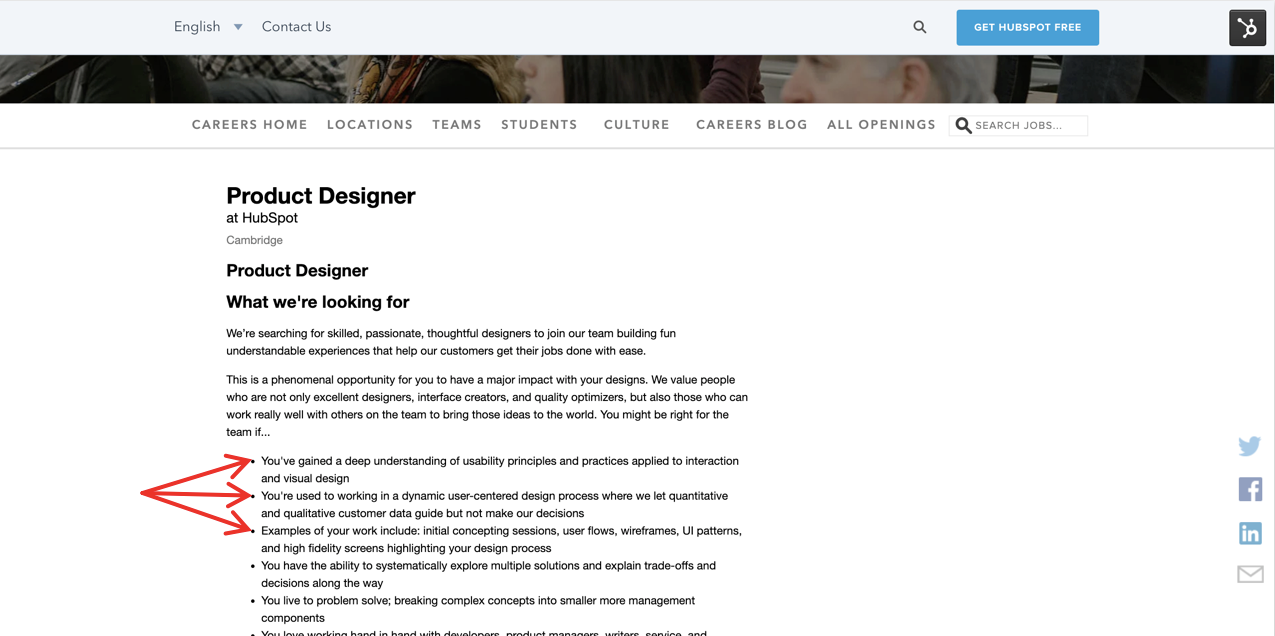 Designing A User Centered Cover Letter And Resume By Loe Lee Hubspot Product Medium