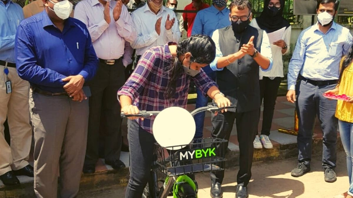 Infopark in Kochi goes greener with online bike sharing service for employees