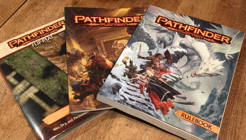 Pathfinder Playtest' Let Loose at GenCon! Early Thoughts