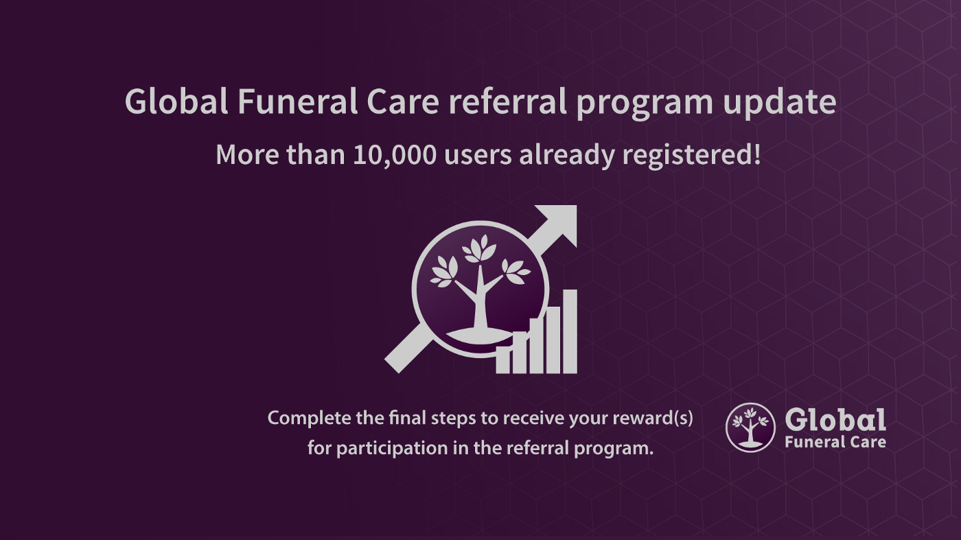 Global Funeral Care referral program update