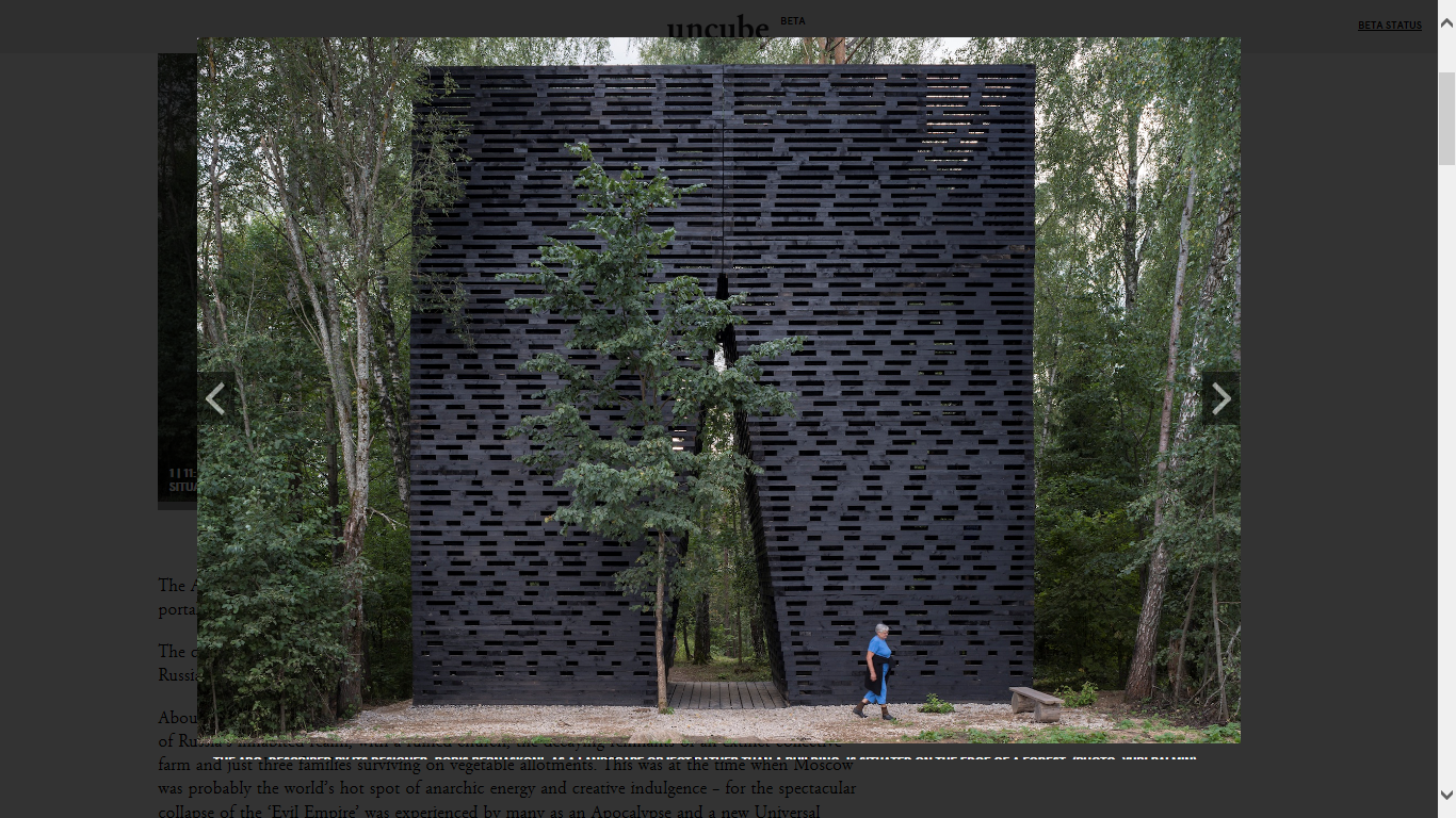 Wooden Architecture — Russia's Window on the Past, Present and Future