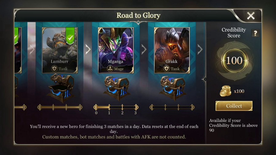 Arena of Valor — mobile version of League of Legends