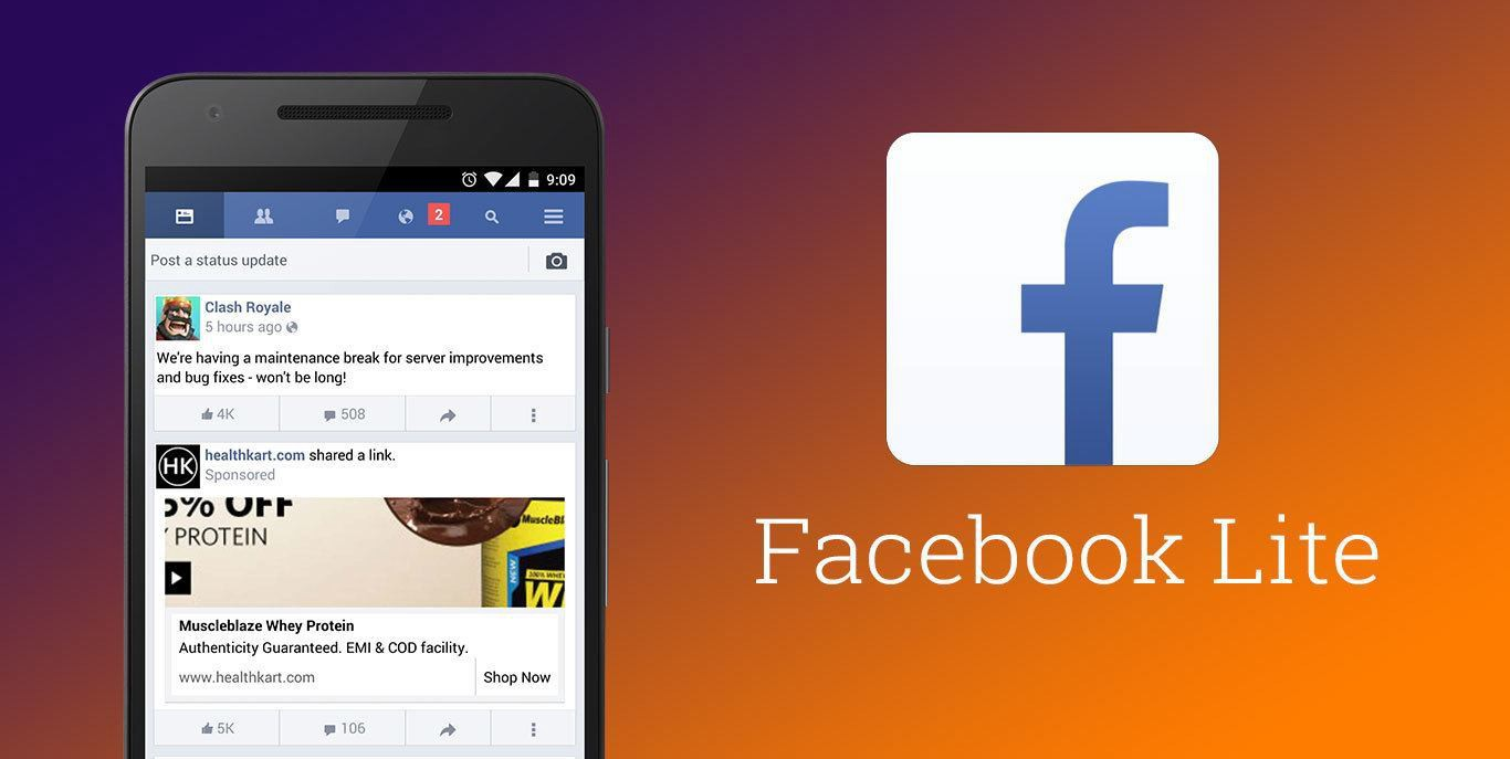Facebook Lite Android review - 9appsfree - Medium