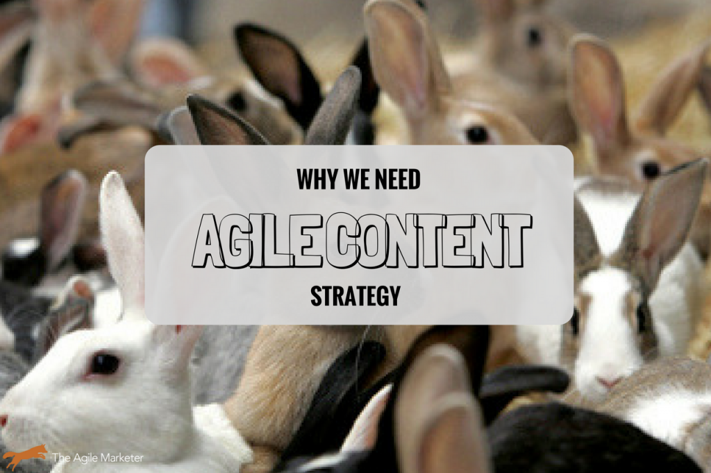why agile content strategy