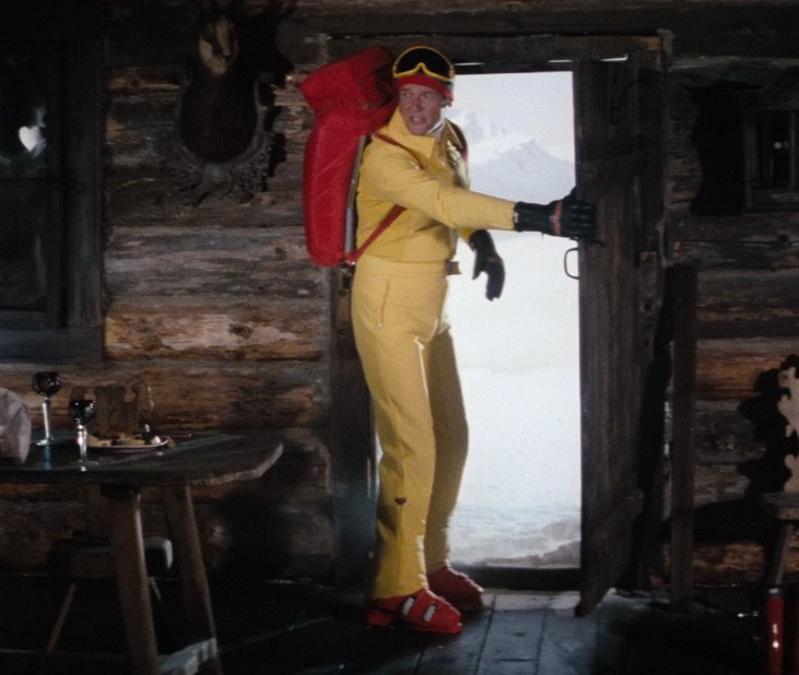 Jams Bond Ski Suit
