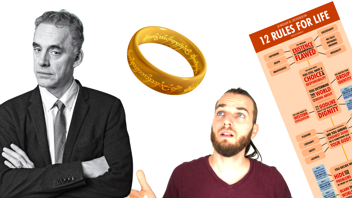 One Rule to Rule Them All - Jordan Peterson's 12 Rules for Life Summarized (With Infographic)