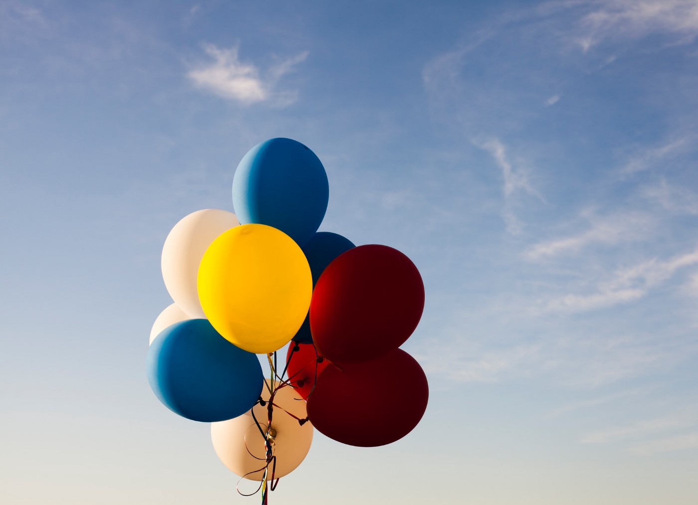 Balloons on a string