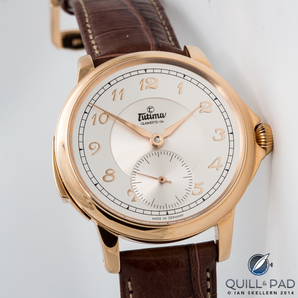 Tutima Hommage Minute Repeater in red gold with classic dial