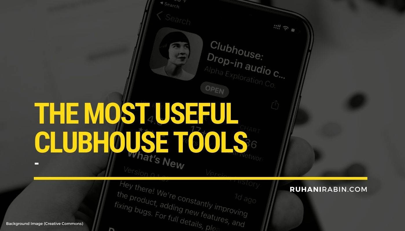 The Top 16 Most Useful Clubhouse Tools in 2021 Featured Image