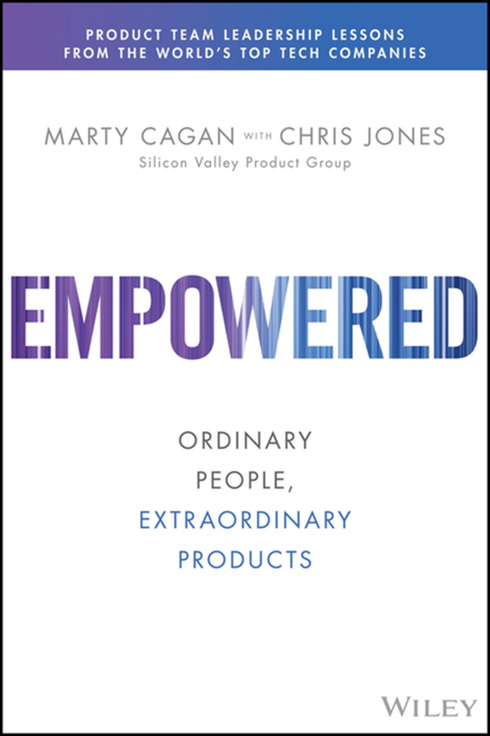 The front cover of 'Empowered'
