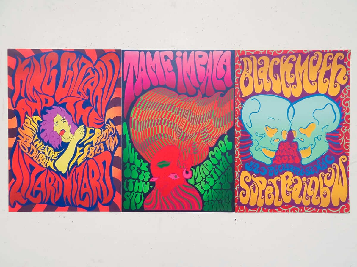 Imagery Psychedelia - Graphic Design Trends 2021