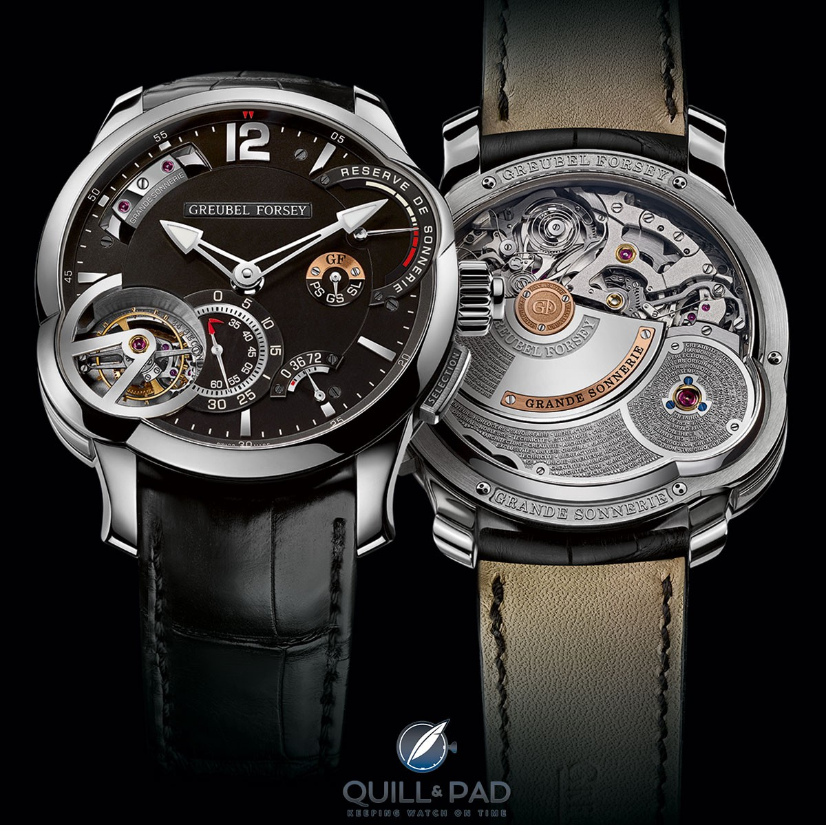 Greubel Forsey Grande Sonnerie front and back