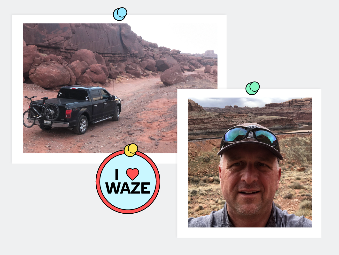 Using Waze feels like playing a game, and dads love to beat the system.
